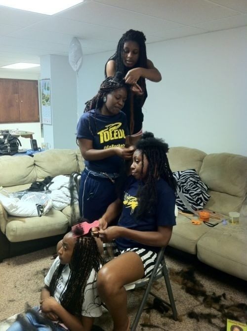 The Family That Braids Together, Stays Together!